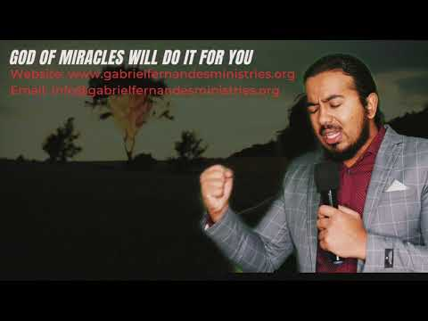 GOD OF MIRACLES WILL DO IT FOR YOU, POWERFUL BIBLE MESSAGE AND PRAYERS