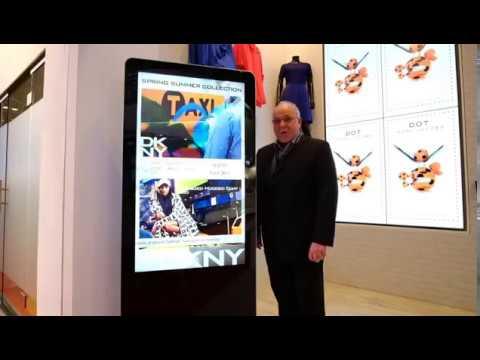ISE 2017 - Freestanding Advertising Displays