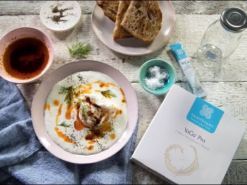 Turkish eggs with YoGo Pro 2 Billion Live Cultures Natural