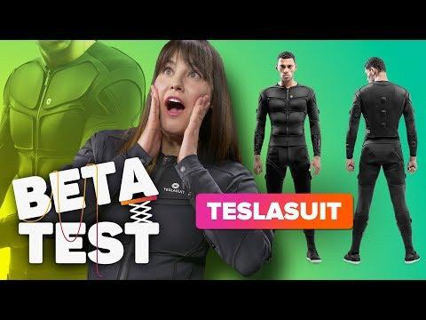 The Teslasuit literally shocked me   Beta Test - UCOmcA3f_RrH6b9NmcNa4tdg