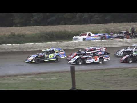 B Mods A-Feature at Mid Michigan Raceway Park, Michigan, on 10-02-2021!! - dirt track racing video image