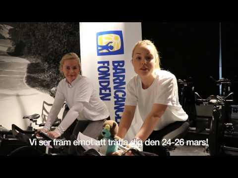 Barncancerfonden & Ride of Hope på Sweden Bike Expo 2017