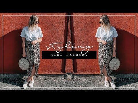 STYLING MIDI SKIRTS | HIGH STREET TO DESIGNER | I Covet Thee