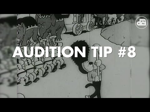 Audition Tip #8:  Technical Proficiency Is Not the Be-All End-All