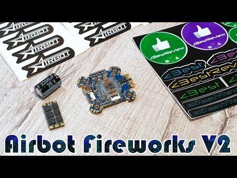 ✔ Полетный Контроллер Airbot Omnibus Fireworks V2 + Регуляторы Airbot Wraith32 Mini V2 35A ESC! - UClNIy0huKTliO9scb3s6YhQ