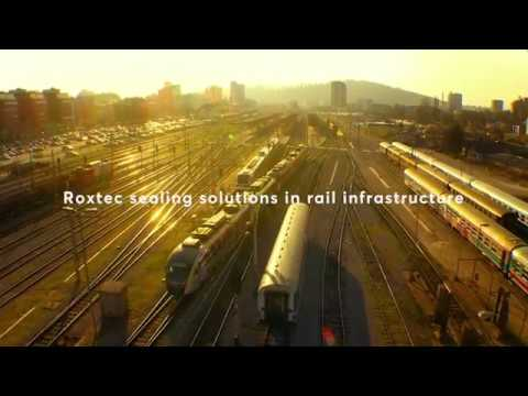 Roxtec sealing solutions in rail infrastructure