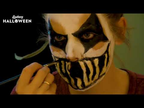 "Tutorial Halloweensminkning ""Clown"""