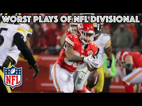 Worst Plays of the Divisional Playoff Round | NFL