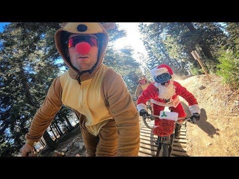 GoPro: 'Tis The Season To Be Shredding Bikes with Santa