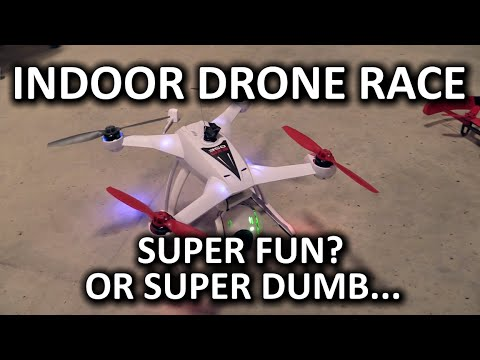 "Indoor Drone (Destruction?) Racing & Bonus ""Get the Keys"" mini-game - UCBZiUUYeLfS5rIj4TQvgSvA"