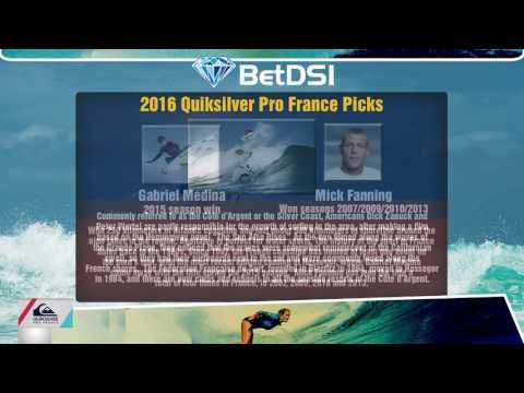 2016 Quiksilver Pro France Picks - World Surfing League Odds
