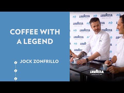 Coffee with a Legend - Australian Open 2019: Jock Zonfrillo and Andrea Mazza