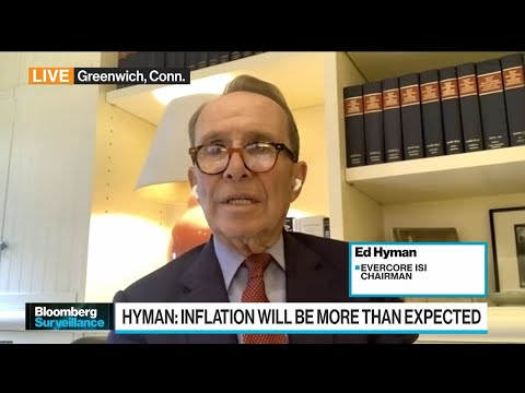 Evercore ISI's Hyman Sees 3% Inflation in 2023, 2024