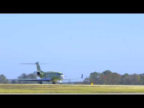 G600 First Flight - Takeoff