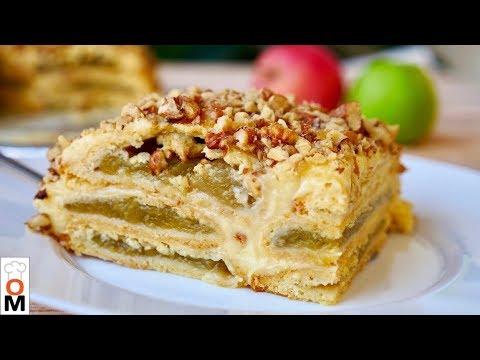 Баварский Яблочный Торт Нереально Вкусный!!!