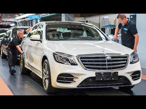 Mercedes S-Class (2018) Production & Autonomous Test Drive [YOUCAR]