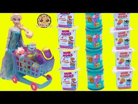 Disney Frozen Doll Queen Elsa Shops for Num Noms Series 2 & Shopkins Blind Bags - UCelMeixAOTs2OQAAi9wU8-g