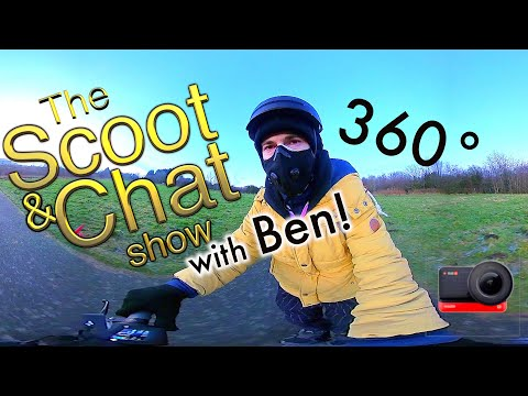 The Scoot & Chat show!🎙 360° E-SCOOTER RIDE | ETWOW GT & INSTA 360 ONE R