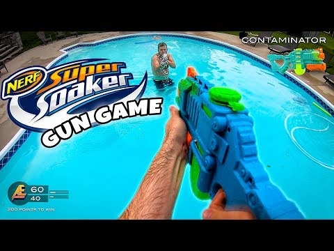 NERF GUN GAME | SUPER SOAKER EDITION (Nerf First Person Shooter) - UCOTaQOueW7Va3rVF3PGL4hw