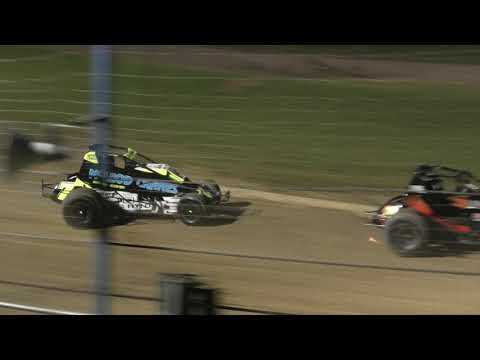 Six Shooters Race 3 24 October 2020 - dirt track racing video image