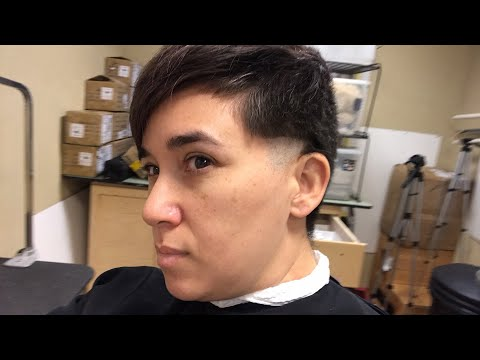 Dede gets her fade. Learn to fade a dog like THIS!!!!! Funky town barber Fort Worth