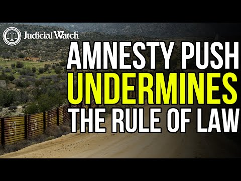 President Biden's DANGEROUS Amnesty Push for Illegal Aliens