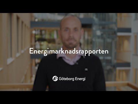 Energimarknadsrapporten, september 2020