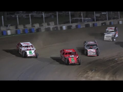 I.M.C.A. A-Feature at Crystal Motor Speedway, Michigan on 07-10-2021!! - dirt track racing video image