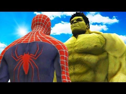 BIG HULK VS SPIDERMAN - THE INCREDIBLE HULK VS SPIDER-MAN (2002) - UCP-CAwOG0AiieZNFdONsN5Q