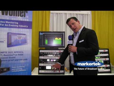 Wohler iAM Video Multi Channel Audio and Video Monitoring and Metering
