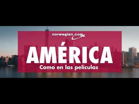 Norwegian Vuelos - América como en las películas – Vuela a Estados Unidos desde Madrid y Barcelona