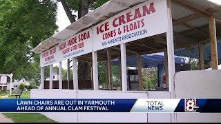 Yarmouth gearing up for 54th annual clam festival
