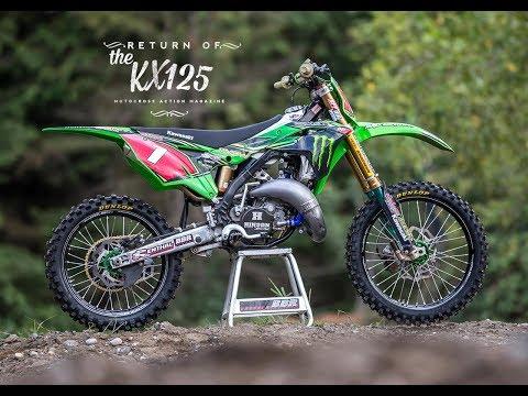 Return of the KX125 2 stroke - Motocross Action Magazine