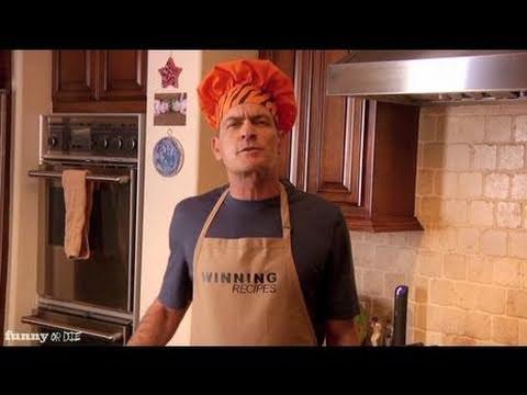 Charlie Sheen's Winning Recipes