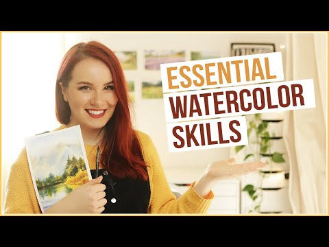Top 8 Essential Watercolor Skills You Need to Know