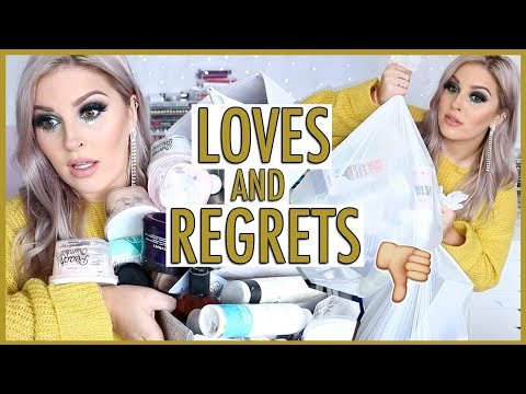 65+ Empties, Reviews & Regrets! ?? HOLY GRAIL & CRAP Products!