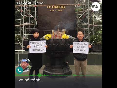 Người Hà Nội, Sài Gòn tưởng niệm 45 năm hải chiến Hoàng Sa