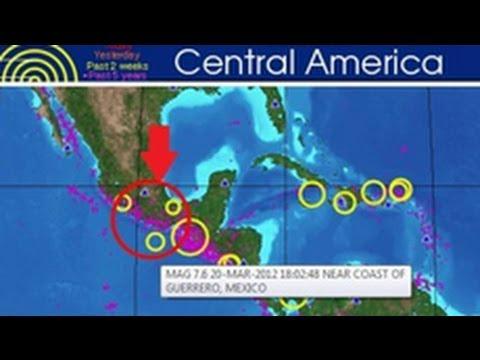 Động đất mạnh 7.6 độ Richter tại tiểu bang Oxaca, Mexico