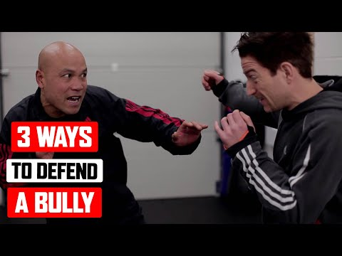 3 Ways to Defend Yourself from a Bully ✅  Lesson 2 | Master Wong