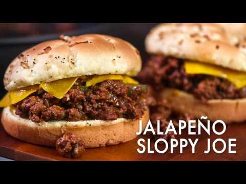 Jalapeno Sloppy Joe