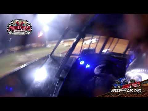 #83 Jensen Ford - Super Late Model - 8-6-21 Ponderosa Speedway - In-Car Camera - dirt track racing video image