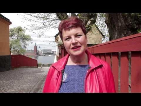 """Mari Åberg berättar om miljöerna i romanen """"Löftet"""""""