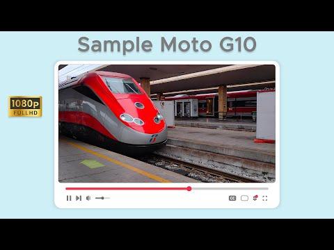Test di ripresa da Motorola Moto G10 in  …