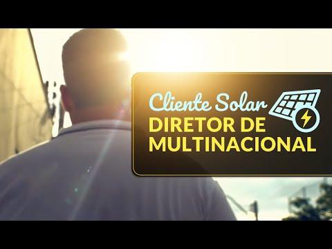Cliente Solar: Diretor  de Multinacional