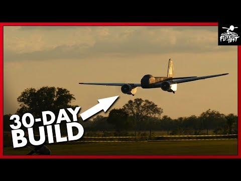30-Day Build Challenge: 12foot WWII German Bombers | FLITE TEST - default