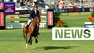 Great win for Alex Granato in Wellington | Longines FEI Jumping World Cup™ NAL 2018/19