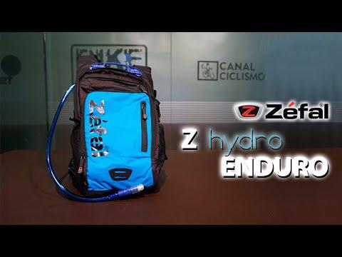 Hidratación máxima con la mochila Zefal hydro enduro