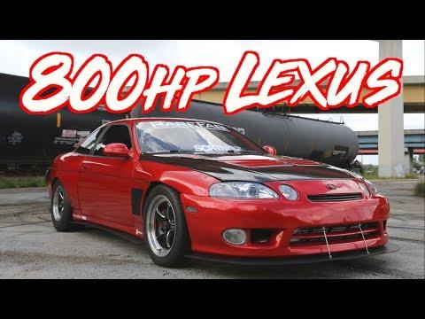 "800HP Lexus Japanese V8 - Turbo SC400 ?The Domestic Killer"""