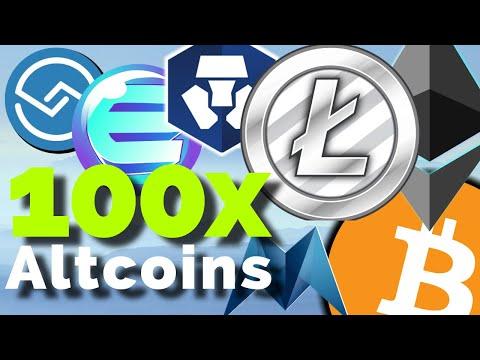 100x Altcoin Moonshots: Litecoin, ShareRing, QNT, ENJIN, <bold>Zcoin</bold>, TOMO, CRO, Morpheus