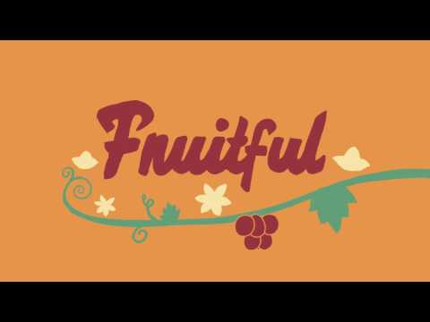 Fruitful - Animated type for School of Motion Holiday Collaboration project